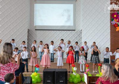 homenagem dos alunos da Escola Batista de Itapevi