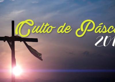 Culto de Páscoa 2019
