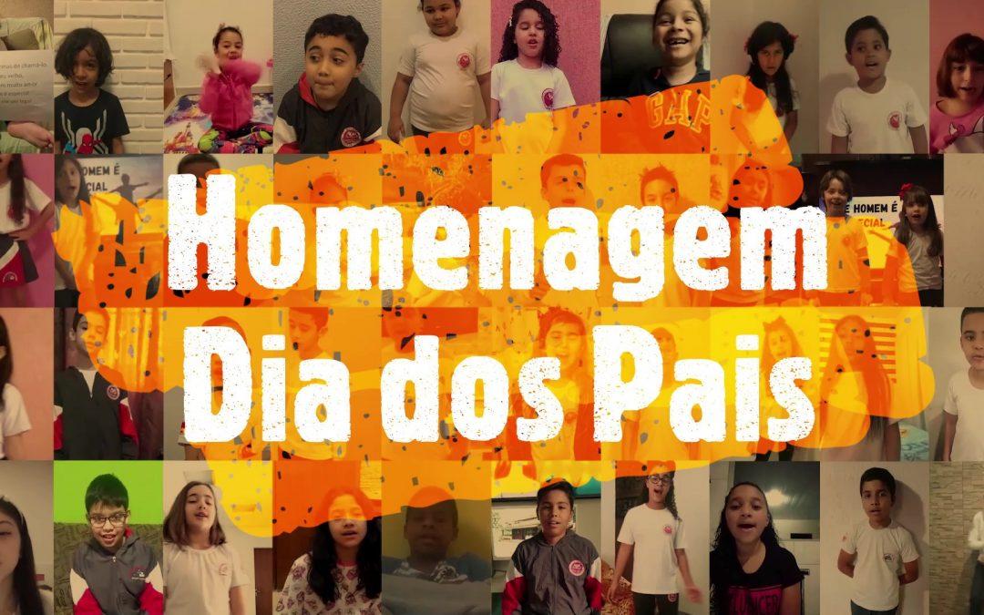 Dia dos Pais 2020, Homenagem Online dos Alunos